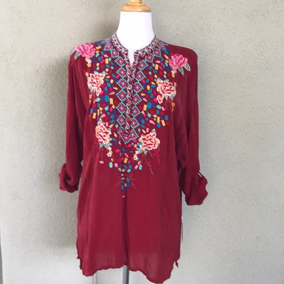 Johnny Was Tops - Johnny Was Blouse NWT
